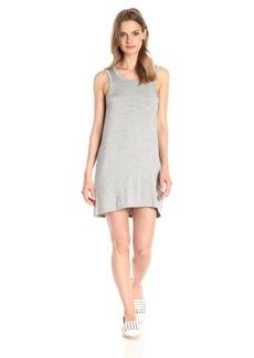 CHASER Women's Cool Jersey Scoop-Back Pocket Mini Dress