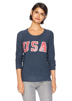 CHASER Women's Cozy Knit Long Sleeve Pullover  S
