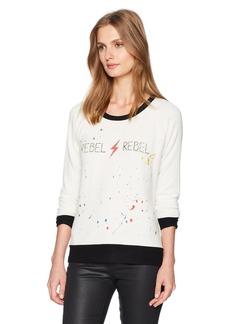 CHASER Women's Long Sleeve Raglan Pullover  XS