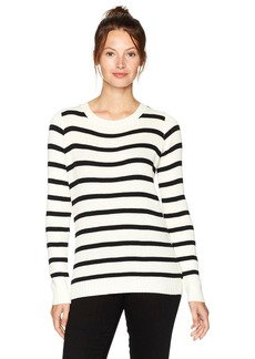 CHASER Women's Rib Sweaters L/s V-Back Pullover  L