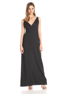 CHASER Women's Triblend Strappy Maxi Dress