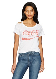 CHASER Women's Vintage Cold Shoulder S/s Tee  L