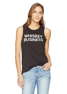 CHASER Women's Vintage Jersey HI LO Muscle Tee  L