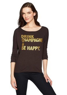 CHASER Women's Vintage Jersey Long Sleeve Dolman  M