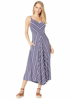 Chaser Cool Jersey Flouncy Cami Sunday Dress