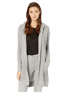 Chaser Cozy Knit Open Front Hooded Cardigan with Pockets