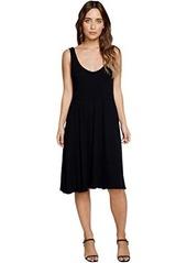 Chaser Cozy Rib Midi Dress