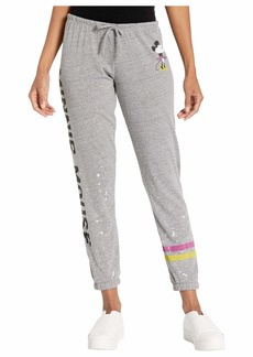 "Chaser Disney® Minnie Mouse ""Classic Minnie"" Tri-Blend Slouchy Lounge Pants"