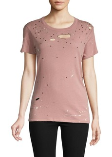 Chaser Distressed Cotton Tee