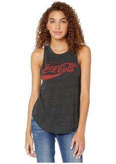 "Chaser ""Enjoy Coca-Cola"" Tri-Blend Basic Muscle Tank"