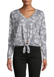 Chaser Floral-Print Cotton-Blend Top