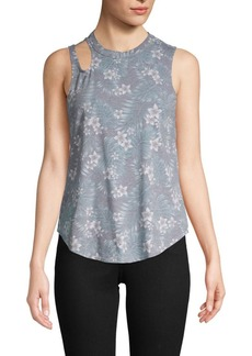Chaser Floral-Print Tank Top
