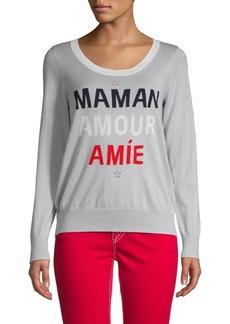 Chaser Graphic Cotton & Cashmere-Blend Sweatshirt