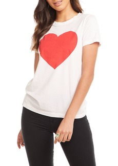 Chaser Heart Graphic Short-Sleeve Tee