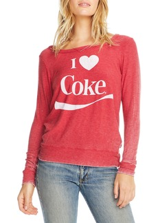 Chaser I Love Coca-Cola Long Sleeve Graphic Tee
