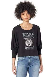 Chaser Journey Don't Stop Believin' Bliss Knit Sweatshirt