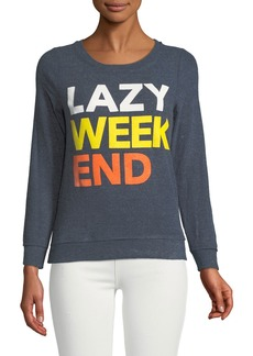 Chaser Lazy Weekend Soft Convo Sweatshirt