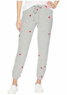Chaser Love Knit Drawstring Slouchy Pants