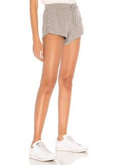 Chaser Love Knit Lace Up Short