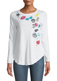 Chaser Patch Party Long-Sleeve Graphic Tee