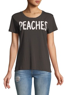 Chaser Peaches Crewneck Graphic Tee
