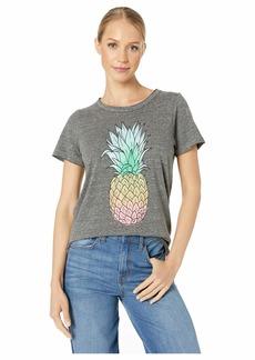 Chaser Pineapple Dream Tri-Blend Short Sleeve Crew Neck Tee