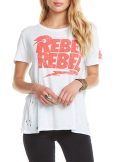 Chaser Rebel Rebel Logo Graphic Tee