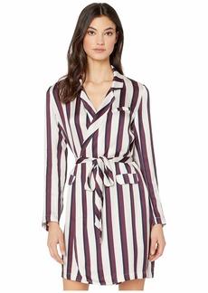 Chaser Silky Basics Blazer Mini Dress