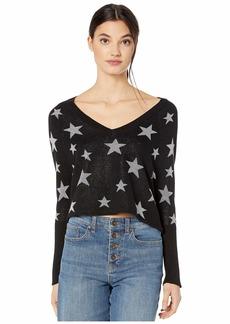 Chaser Star Intarsia Raglan Pullover