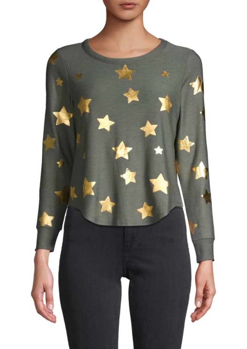 Chaser Star-Print Long-Sleeve Top