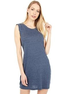 Chaser Tri-Blend Jersey Rolled Armhole Tank Dress