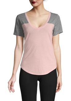 Chaser V-Neck Cotton-Blend Tee