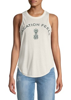 Chaser Vacation Feels Muscle Tee