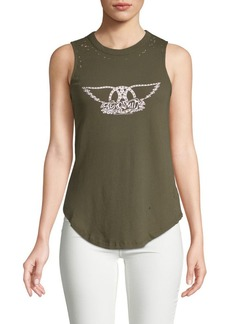Chaser Vintage Muscle Cotton Tank Top