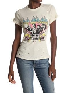 Chaser Vintage Short Sleeve Crew Neck Band T-Shirt
