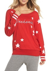 Chaser Weekends Intarsia Sweater