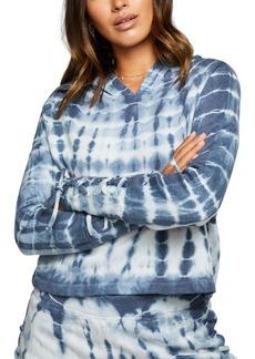 Women's Chaser Lace Up Tie Dye Fleece Hoodie