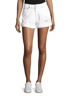 Cheap Monday Donna Distressed Shorts