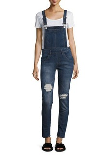 Cheap Monday Side-Zip Dungaree Overalls
