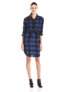 Cheap Monday Women's Raw Plaid Shirt Dress