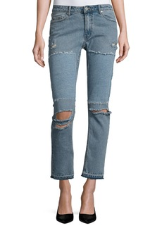 Cheap Monday Common Distressed Skinny Jeans