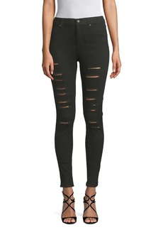 Cheap Monday Ripped Skinny Stretch Jeans