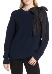 Chelsea28 Bow Shoulder Sweater