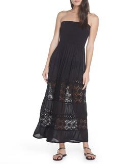 Chelsea28 Farrah Smocked Cover-Up Maxi Dress
