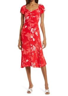 Chelsea28 Floral Slit Dress