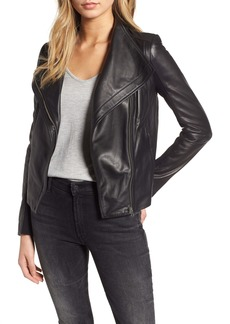 Chelsea28 Leather Moto Jacket