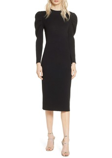 Chelsea28 Long Sleeve Midi Sweater Dress