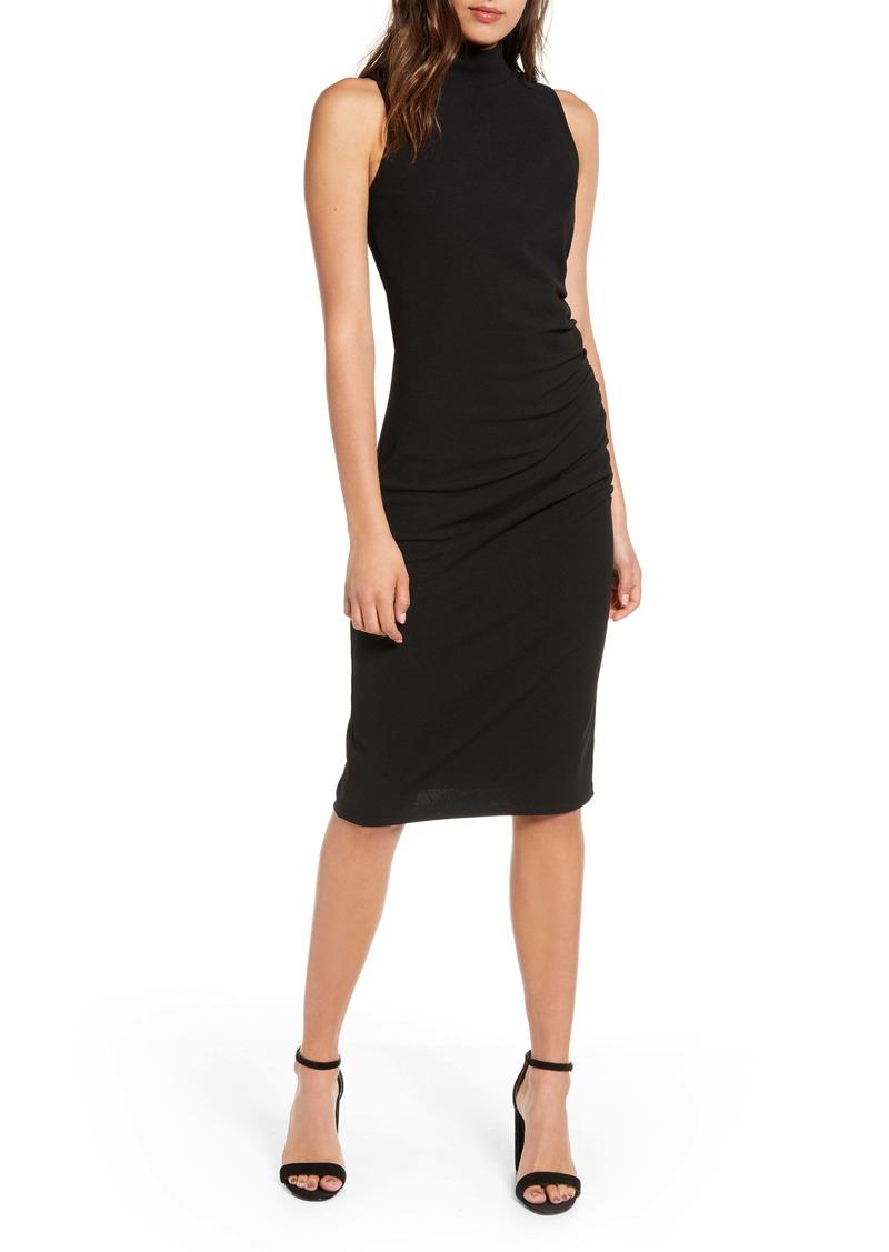 Chelsea28 Mock Neck Sheath Dress