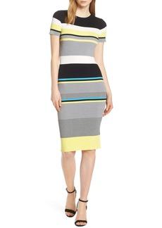Chelsea28 Multistripe Sweater Dress