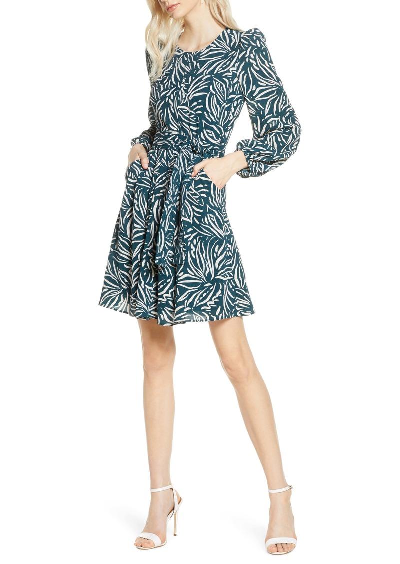 Chelsea28 Printed A-Line Dress
